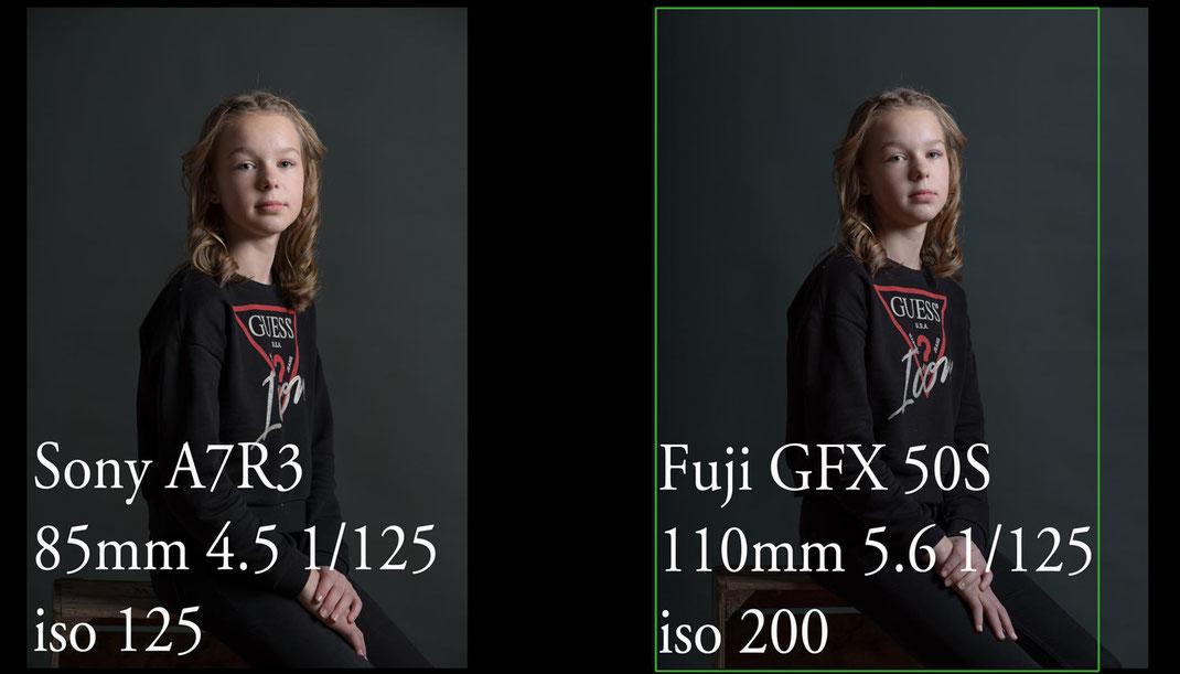 Photographe yvelines test Fuji GFX 50s versus Sony A7Riii