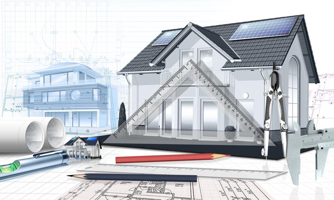Fassadengestaltung, Fassadendesign von GERZEN wand-design