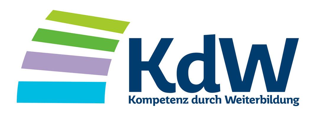 """Neues Logo für das Projekt """"Kompetenz durch Weiterbildung"""" des Wirtschaftsministeriums Saar."""