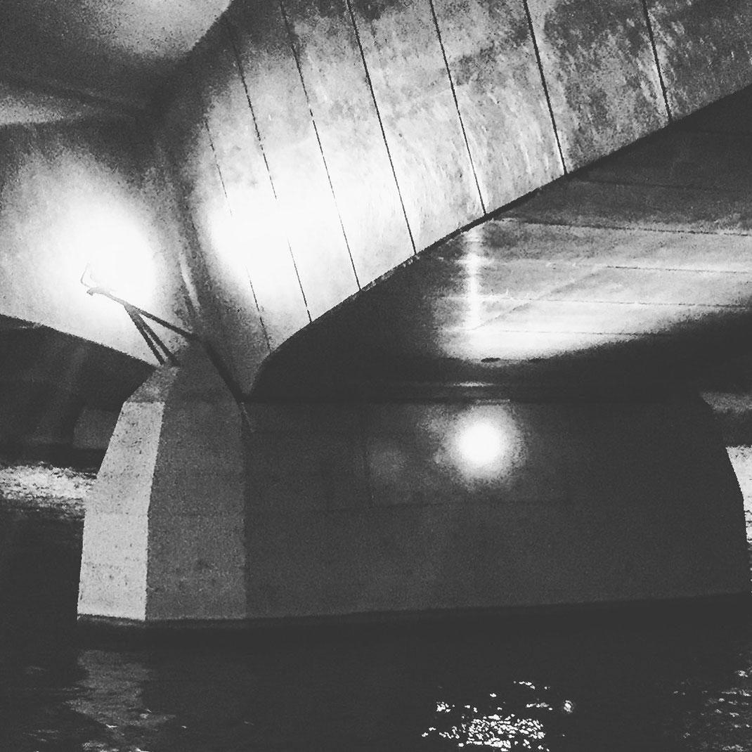 13.10.2016 Brücke am Aasee, Abschluss der offiziellen 100 Tage Challenge - aber für mich geht die Reise weiter