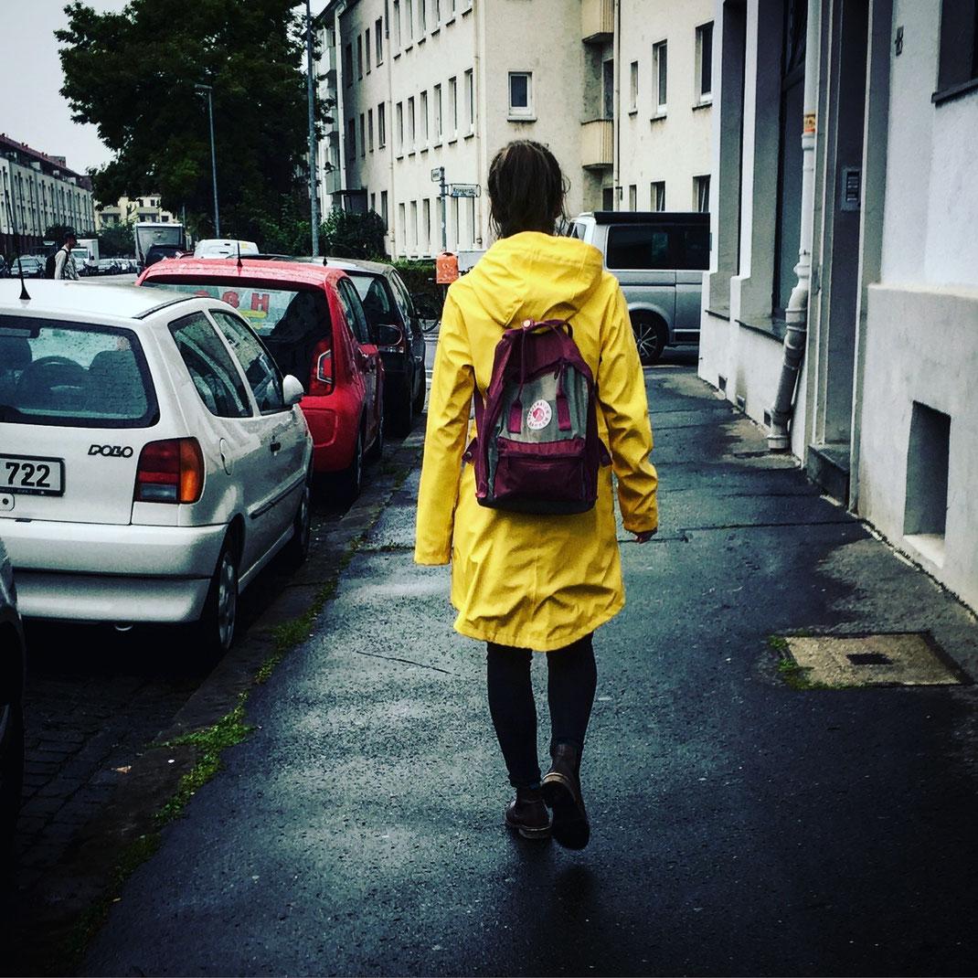 17.09.2016 Gelbe Regenjacke
