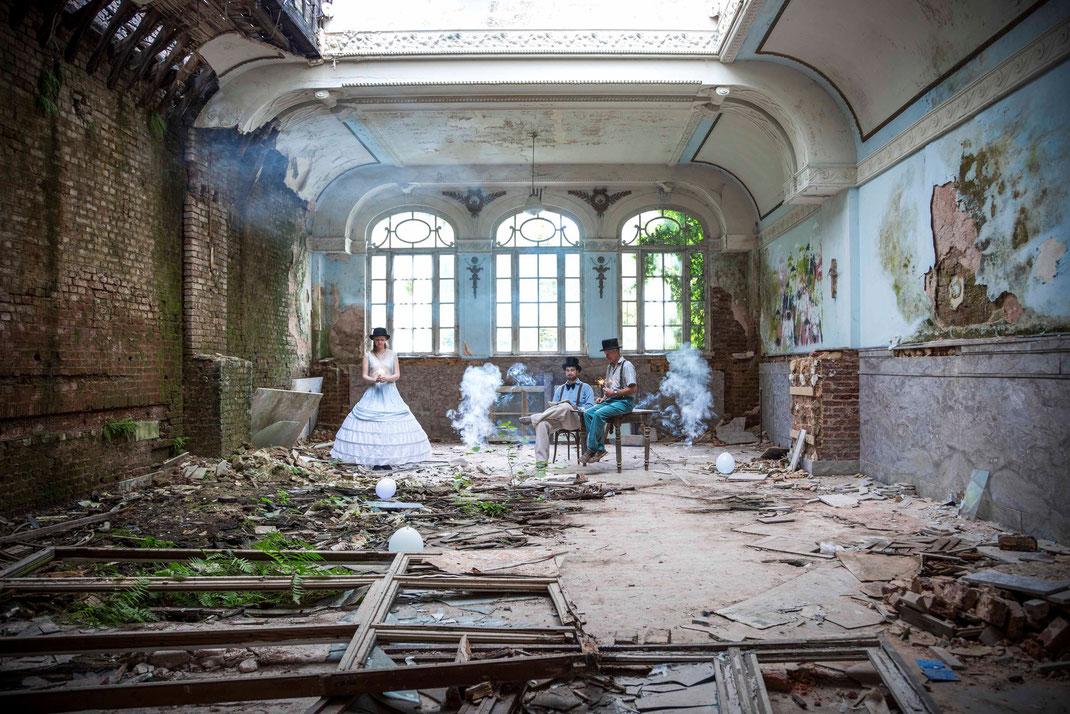 Die Geschichtenerzähler, June 2015, Belgium