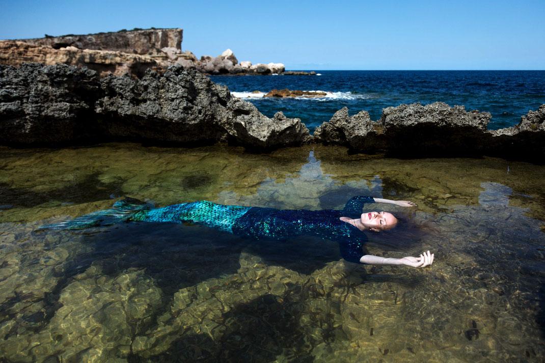 Meeresbewohner V, Sep. 2016, Spain / Selfportrait