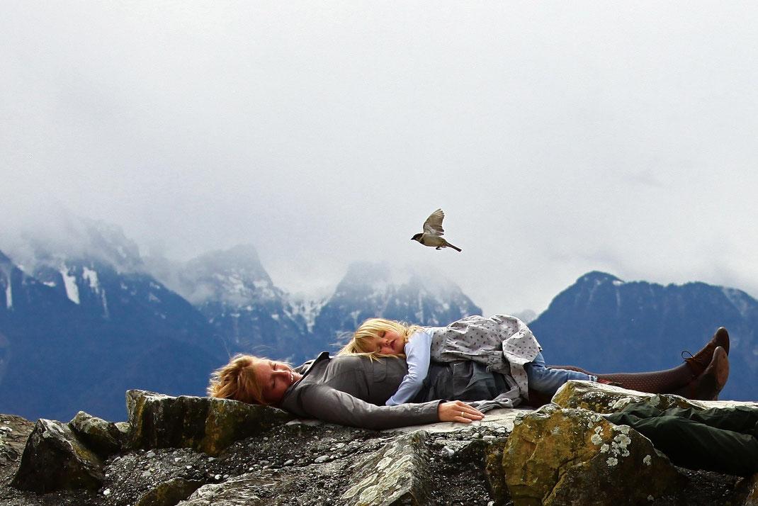 Mère et fille, 2012, Suisse