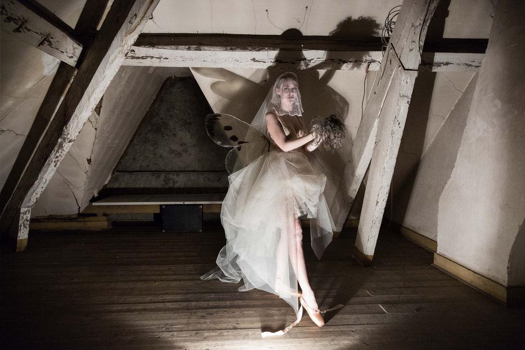 Moth Stories II, Nov. 2016, Belgium / Make-up Artist Carmen Gante