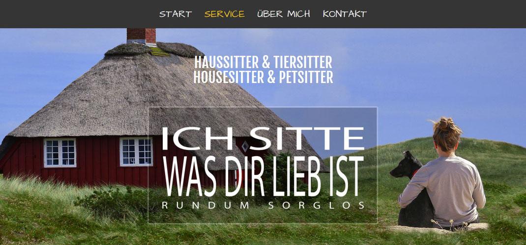 QuickWebDesign - Galerie Webseiten - Haussitter & Tiersitter