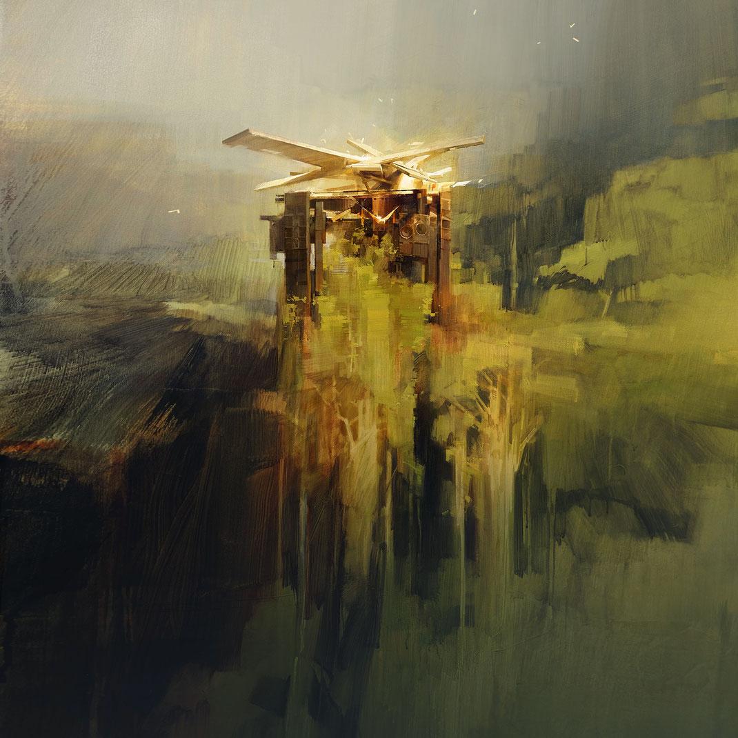 ROYAL ARENA 2021 / Wes21 / Schwarzmaler / Remo Lienhard / Festival Artwork Illustration