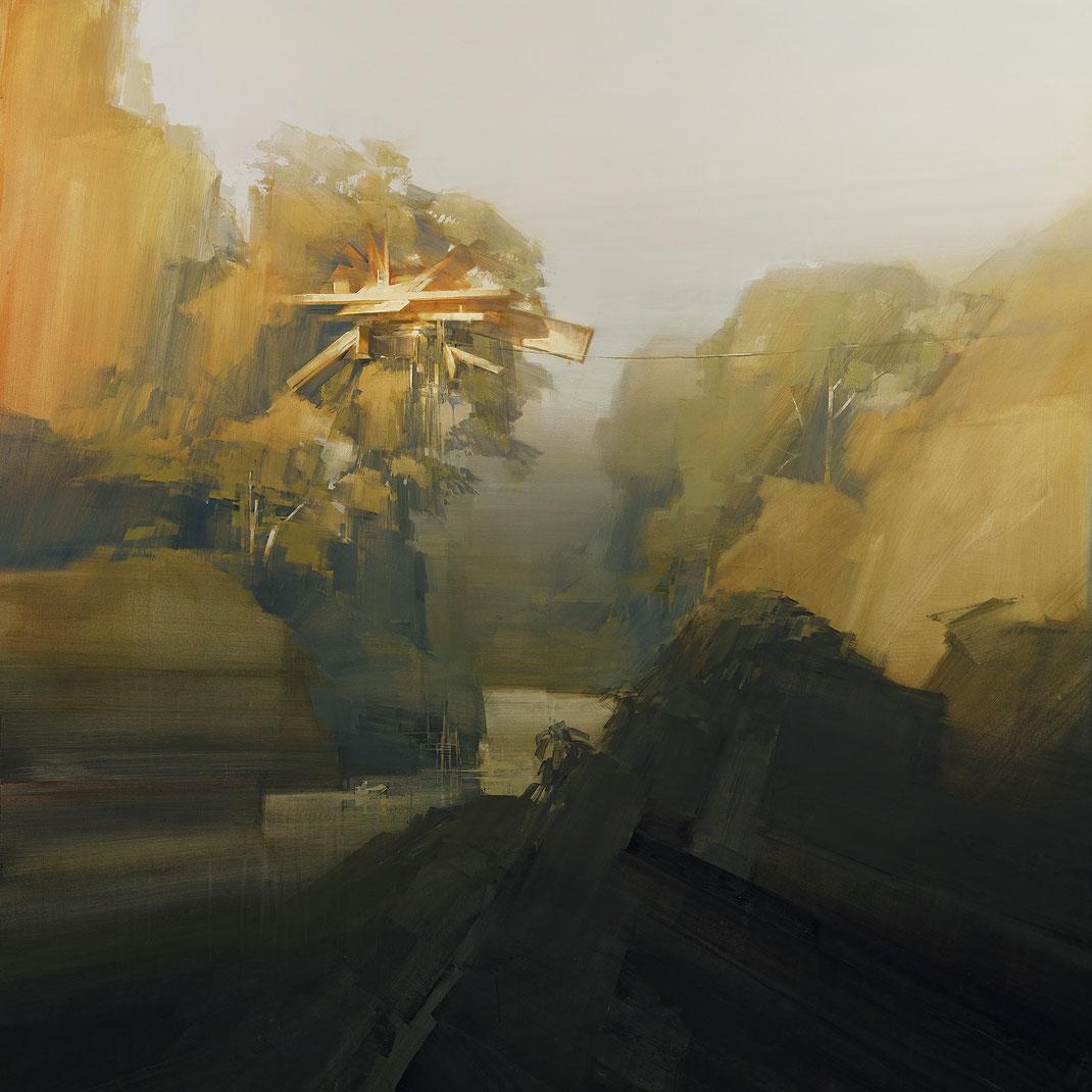 ROYAL ARENA 2020 / Wes21 / Schwarzmaler / Remo Lienhard / Festival Artwork Illustration