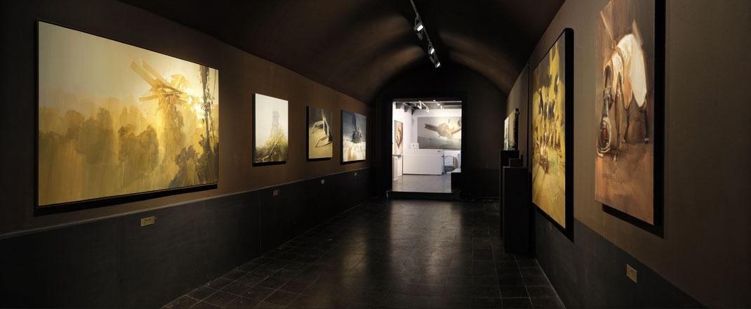 BREAKAWAY / WES 21 / Wes21 / Remo Lienhard / Schwarzmaler / painting on wood