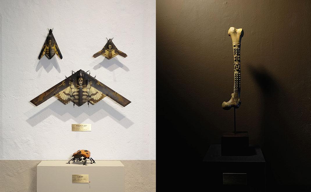 PIRATE FLEET x ARTIFACT / WES 21 / Wes21 / Remo Lienhard / Schwarzmaler / sculptures