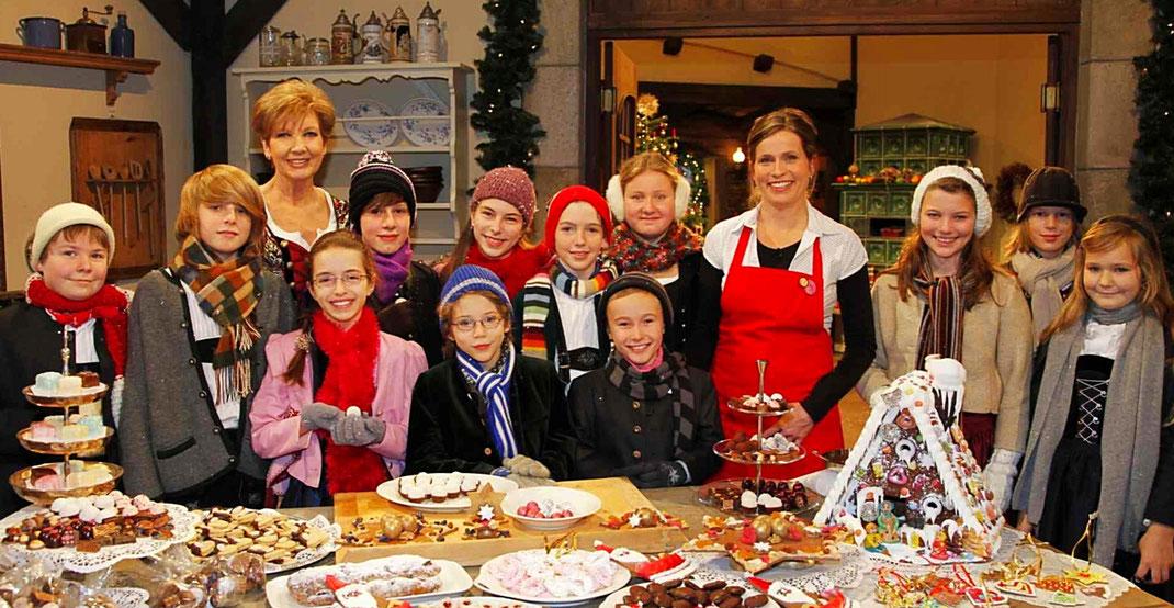 Engelsstimmen in der BR-Sendung Weihnachten mit Carolin Reiber 2009