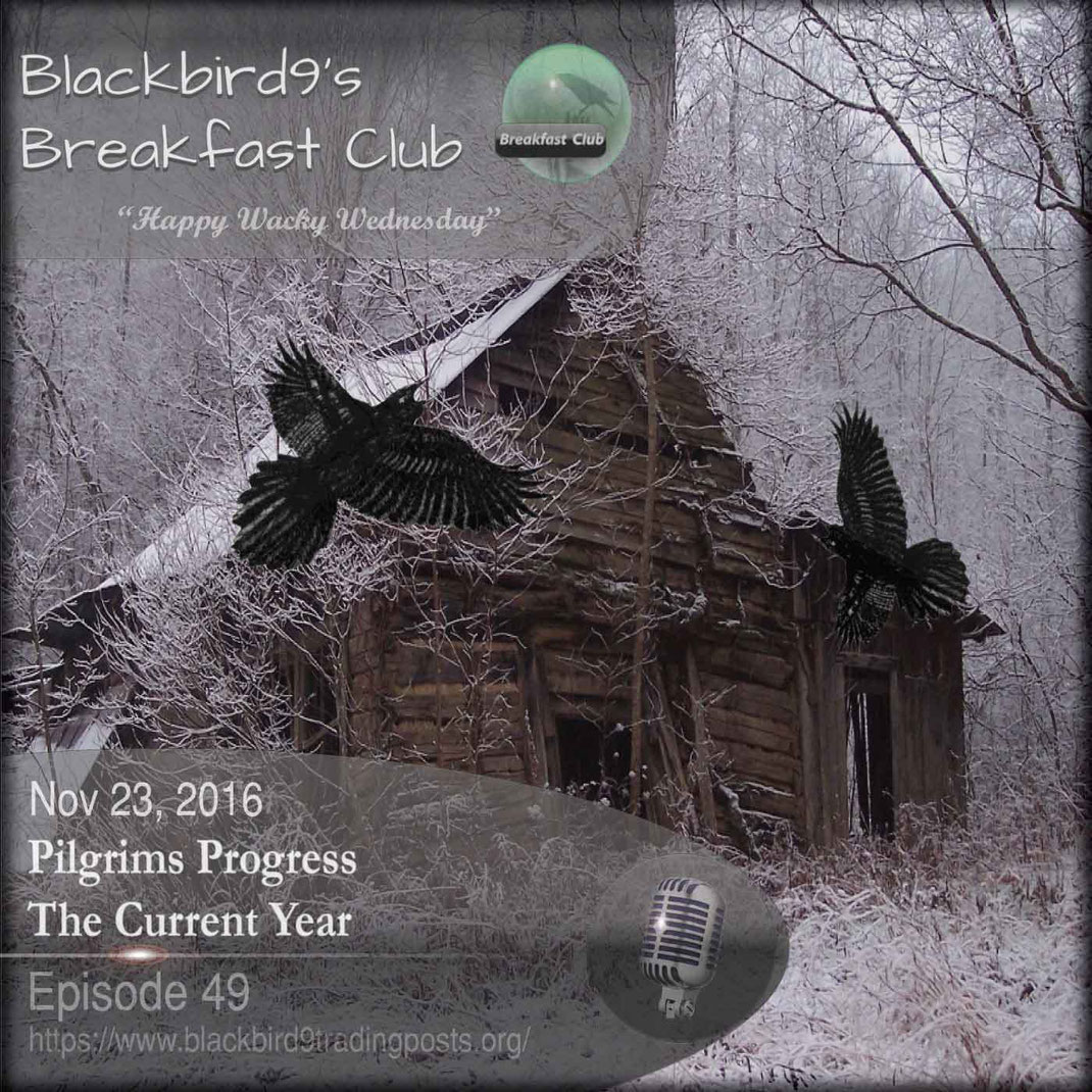 Pilgrims Progress - The Current Year - Blackbird9 Podcast