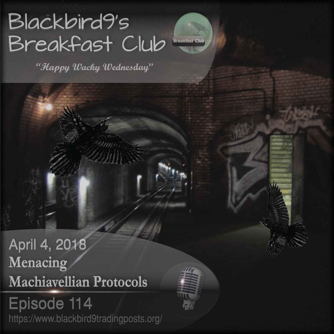 Menacing Machiavellian Protocols - Blackbird9
