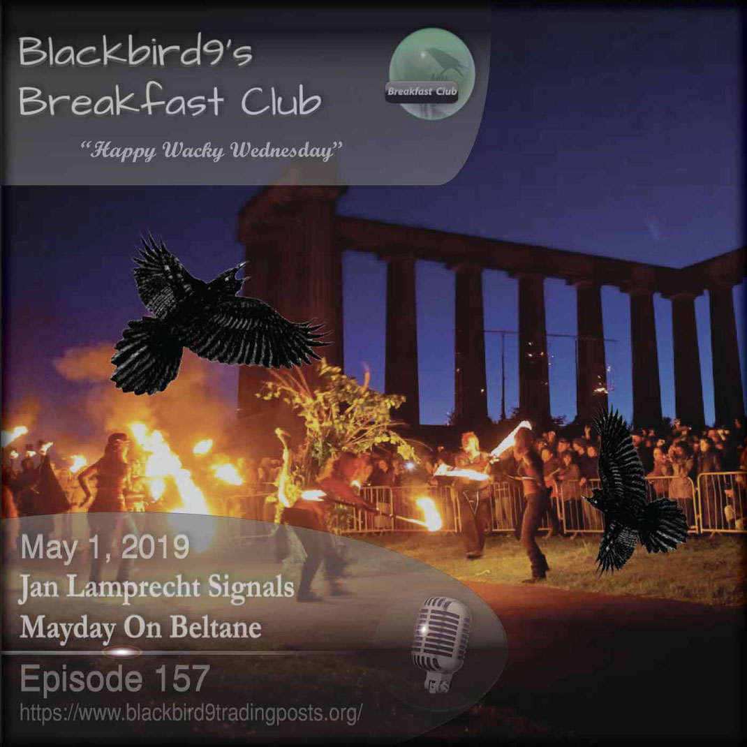 Jan Lamprecht Signals Mayday On Beltane - Blackbird9