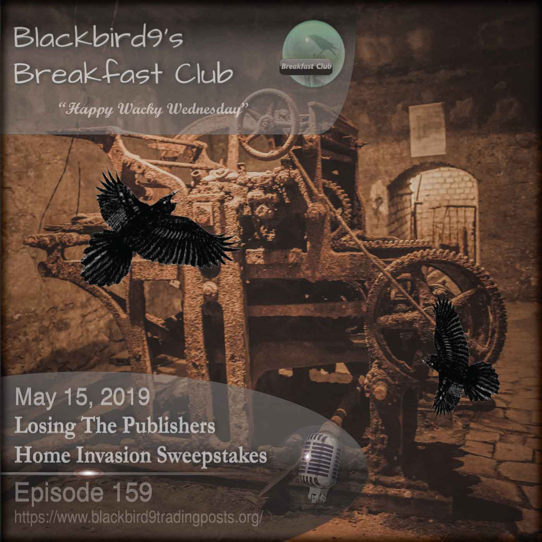 Losing The Publishers Home Invasion Sweepstakes - Blackbird9