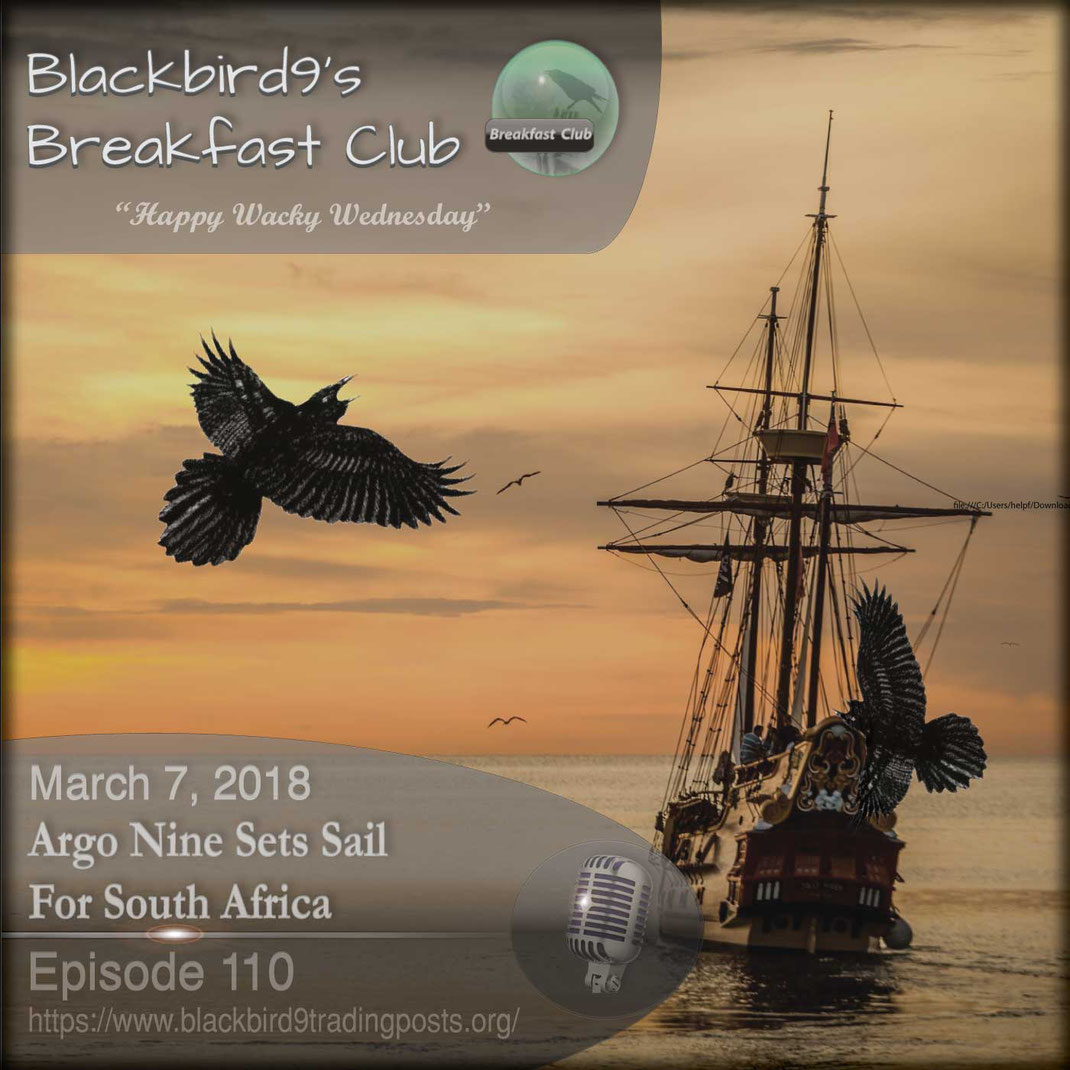 Argo Nine Sets Sail For South Africa - Blackbird9