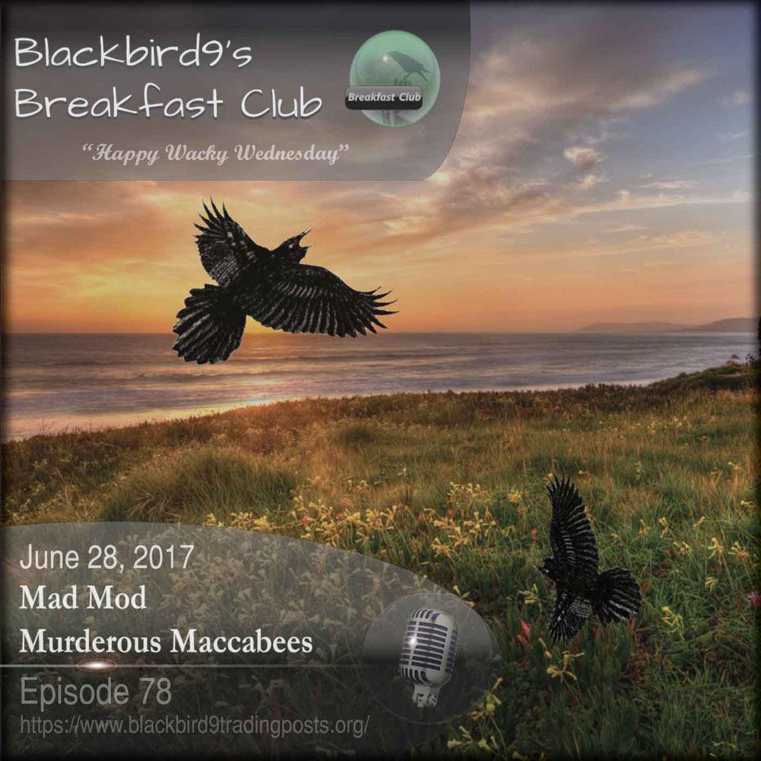 Mad Mod Murderous Maccabee - Blackbird9