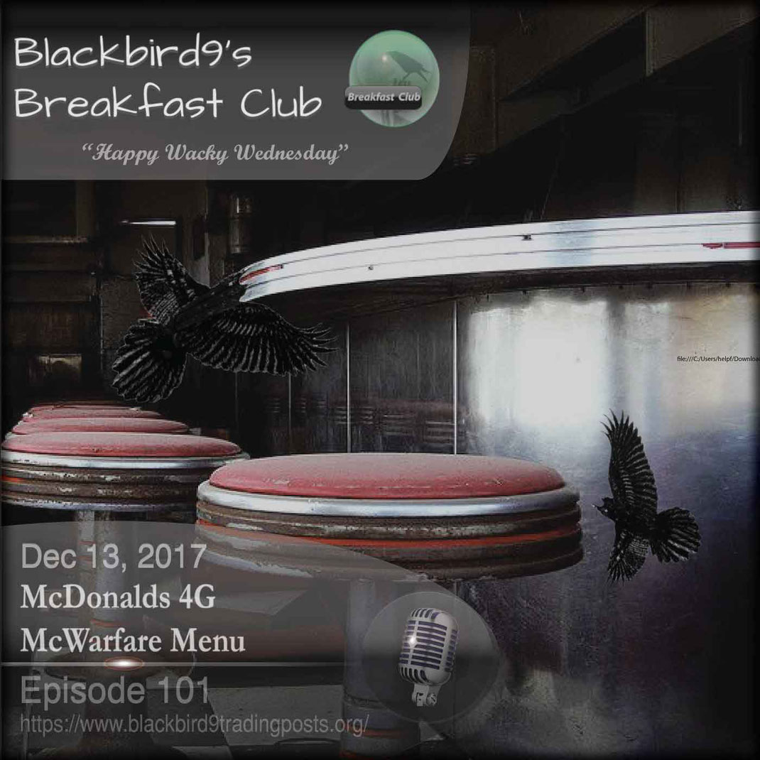 McDonalds 4G McWarfare Menu - Blackbird9