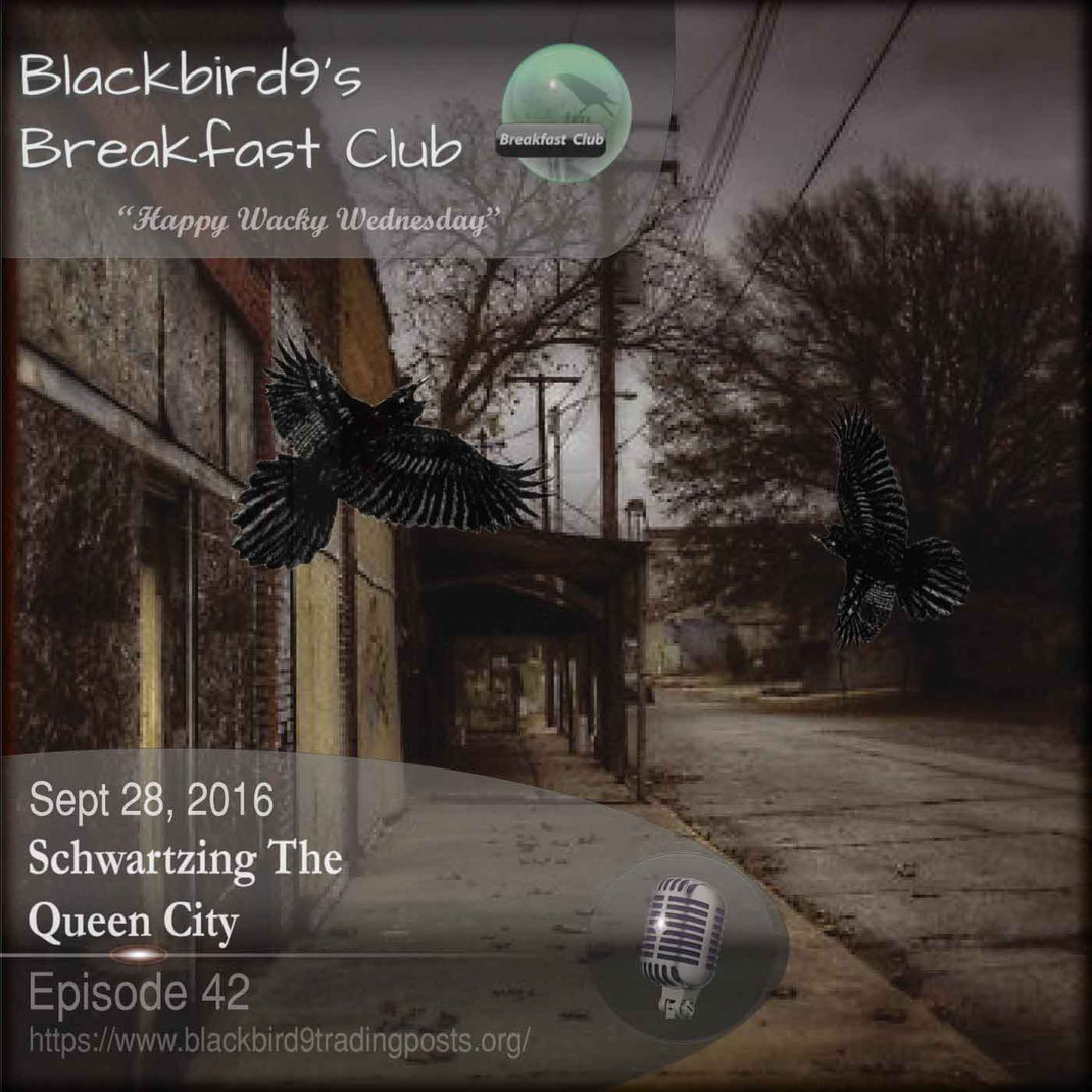 Schwartzing The Queen City - Blackbird9