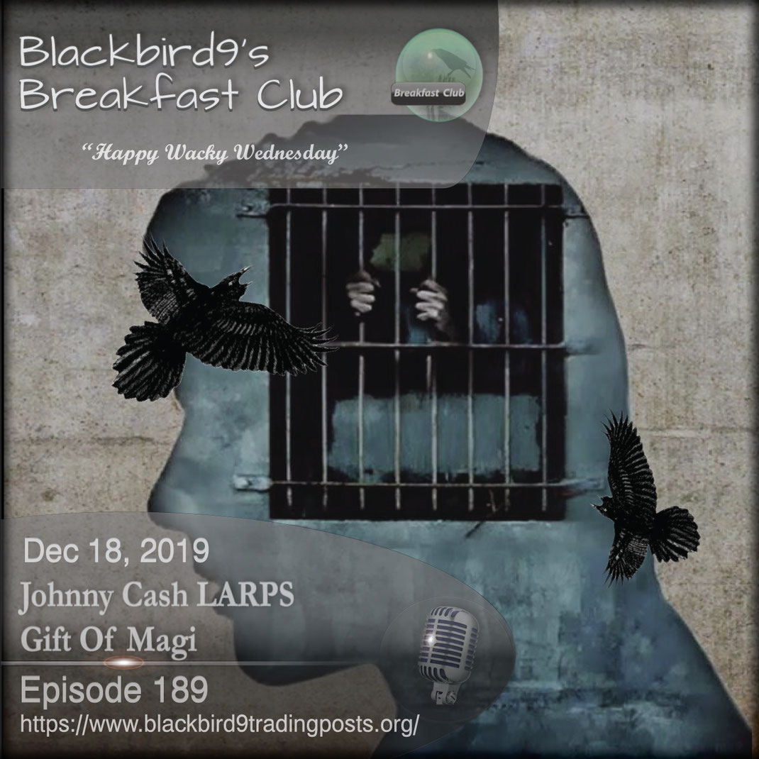 Johnny Cash LARPS Gift Of Magi - Blackbird9