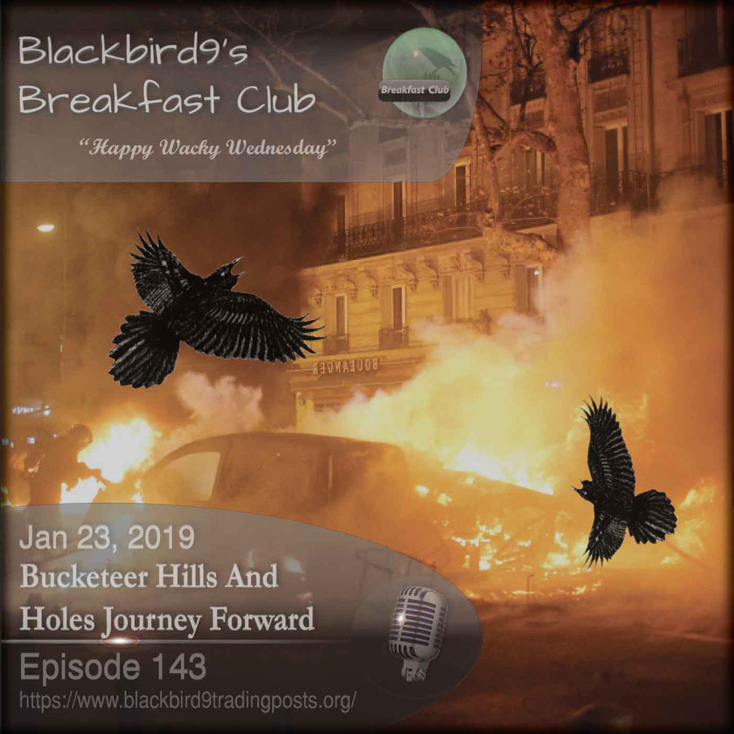 Bucketeer Hills And Holes Journey Forward - Blackbird9