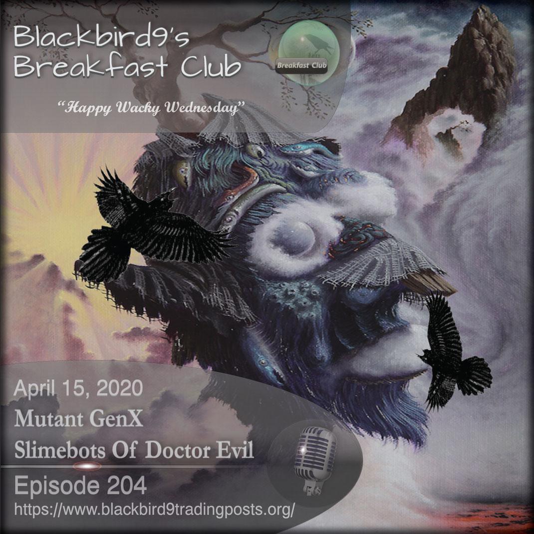 Mutant GenX Slimebots Of Doctor Evil - Blackbird9