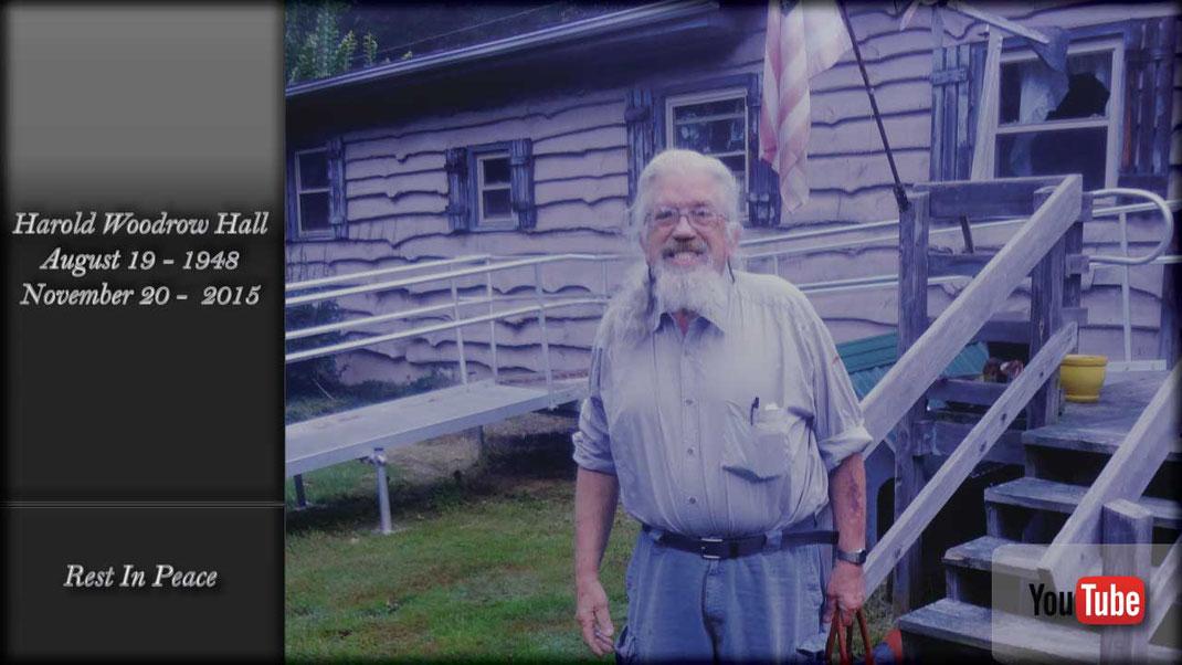 Harold Woodrow Hall R.I.P. August 19, 1948 - November 20, 2015 Jim Croce - I Got A Name - The Last American Hero (1973)