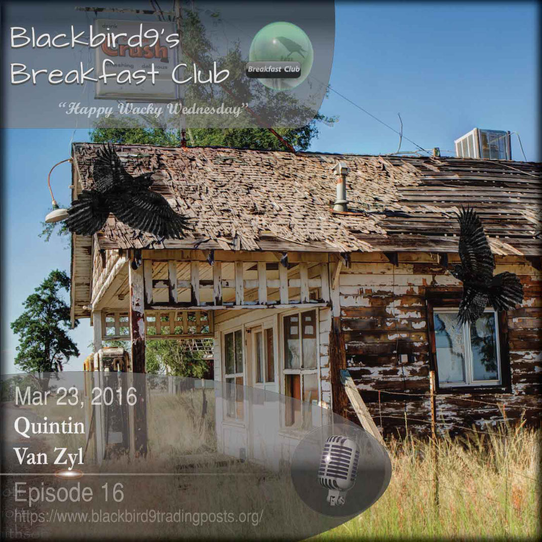 Quintin van Zyl - blackbird9's Podcast