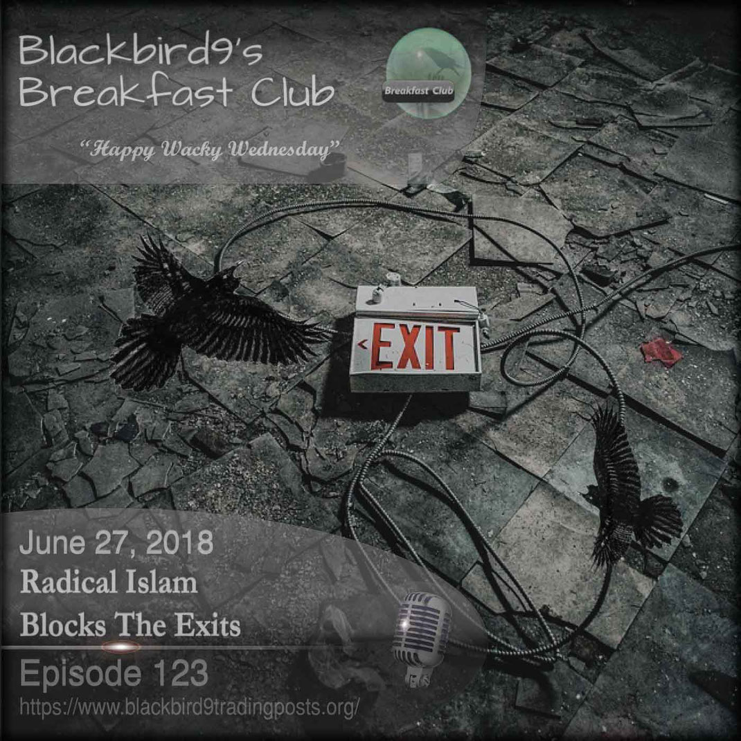 Radical Islam Blocks The Exits - Blackbird9