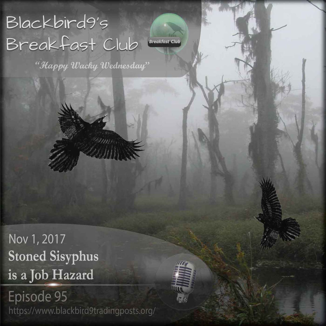 Stoned Sisyphus is a Job Hazard - Blackbird9