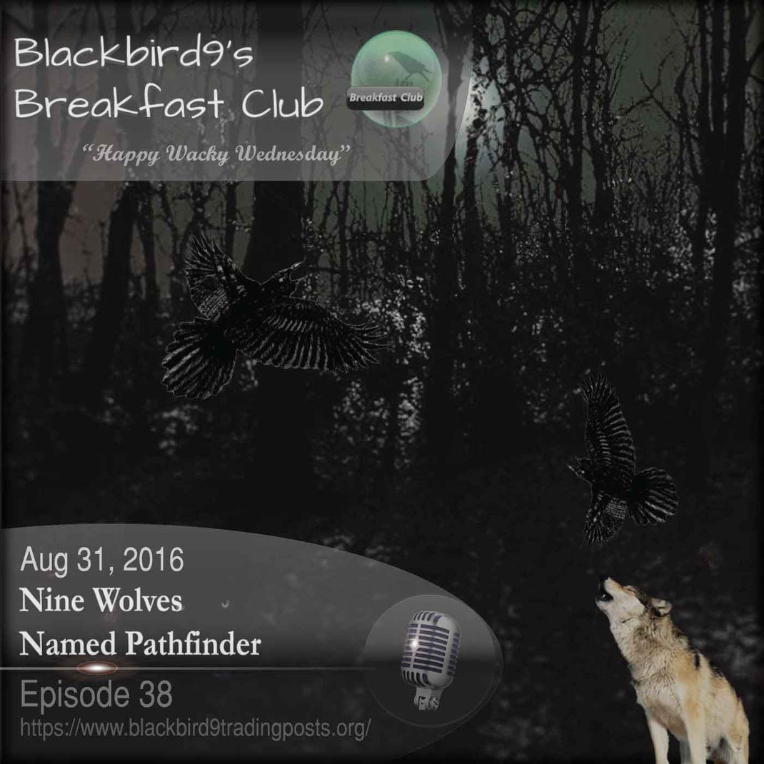 Nine Wolves Named Pathfinder - Blackbird9