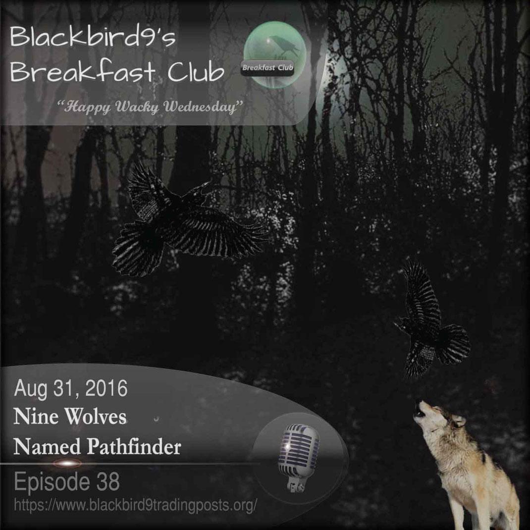 Nine Wolves Named Pathfinder - Blackbird9