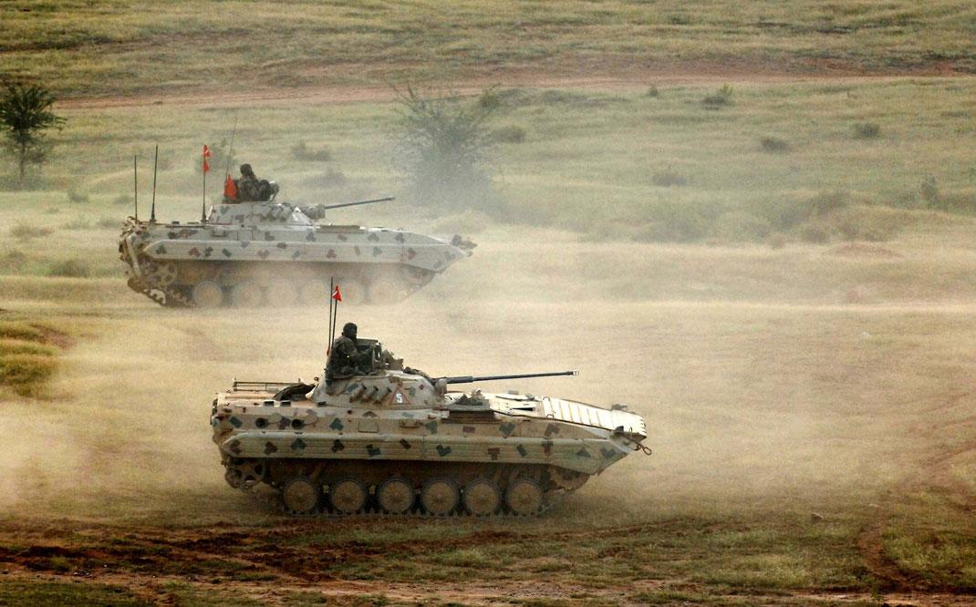 Le BMP-2 garde les mêmes défauts que son prédécesseur et cède sa place à une nouvelle génération de VCI