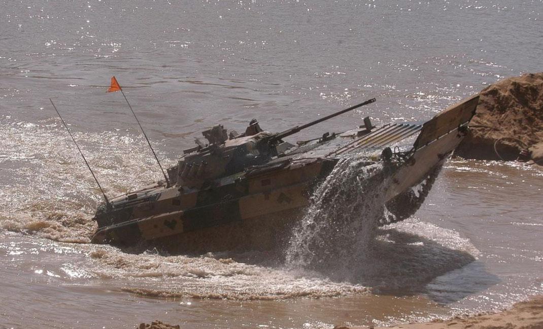 La capacité amphibie reste une priorité