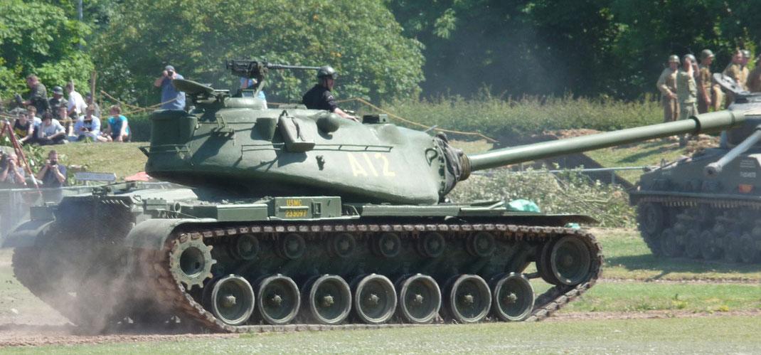 Le M103 incarne la démesure de la protection et de la puissance qui élèvent de façon exponentiel la masse des chars
