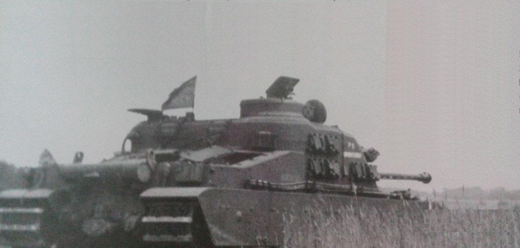Lors des campagnes de tir en Allemagne en 1948, le Tortoise prouve toutes ses qualités offensives
