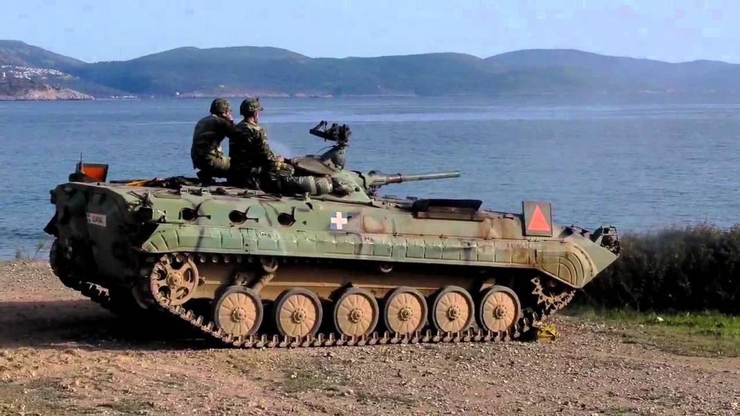 Le profil bas du BMP-1 est un sérieux atout compte tenu de son blindage limité