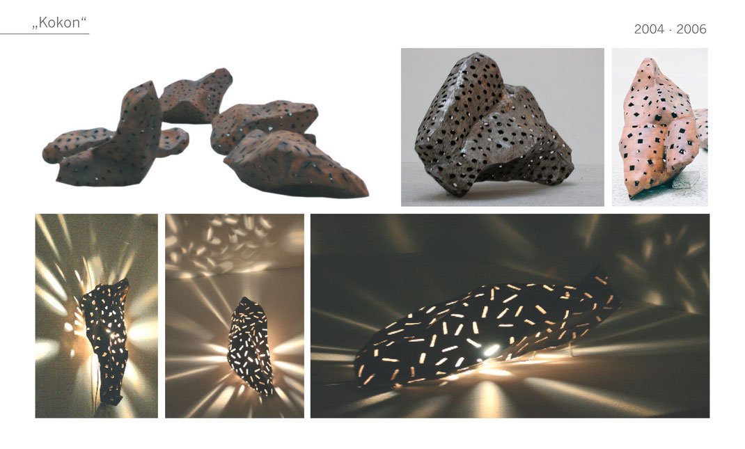 Kokon Gartenobjekt Garten Skulptur metal Metall Katharina Mörth Skulptur Sculpture moderne Kunst Art sculpture network