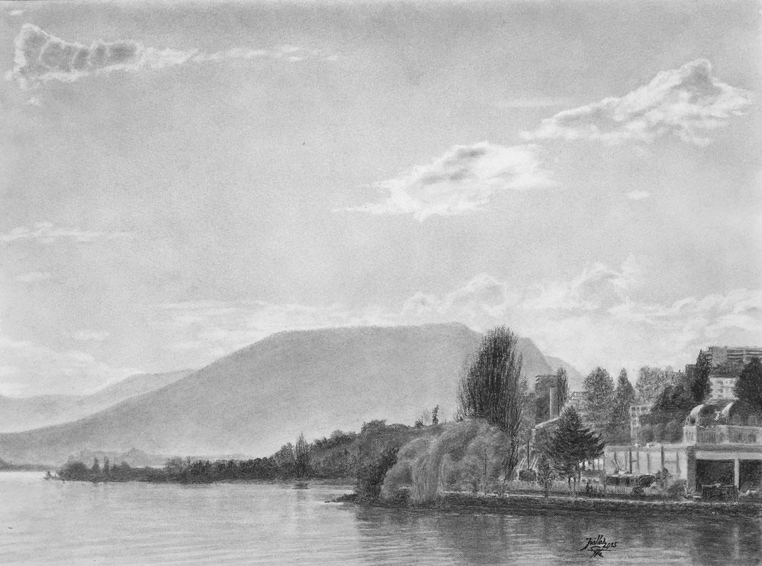 Baie de l'Evole, Lac de Neuchâtel