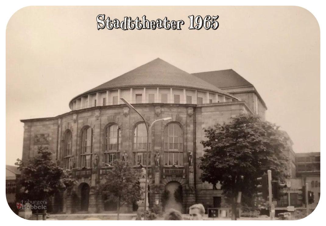 Stadttheater Freiburg 1965