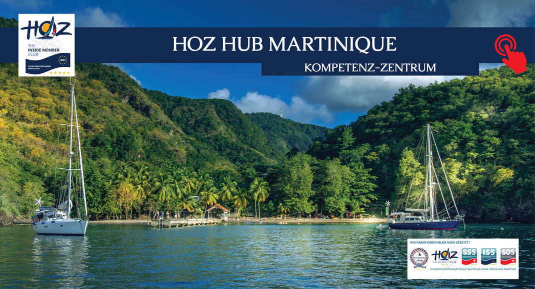 HOZ HOCHSEEZENTRUM INTERTATIONAL | Segeltörns Martinique | www.hoz.swiss