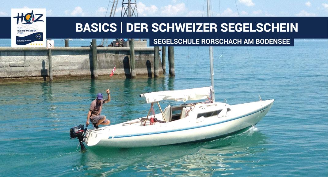 Basics | der Schweizer Segelschein | Segelschule Rorschach | www.hoz.swiss