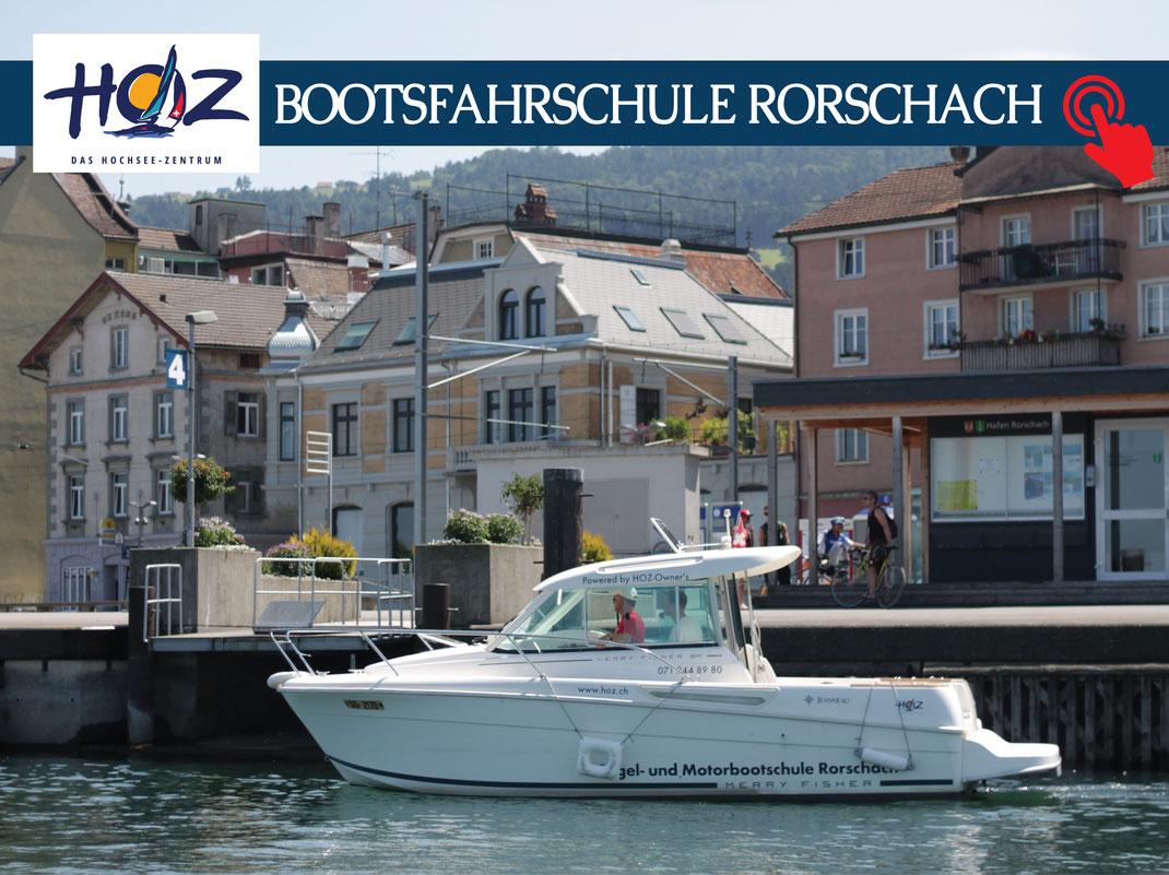 Basics | Der Schweizer Bootsführerschein | Motorbootprüfung Rorschach | www.hoz.swiss