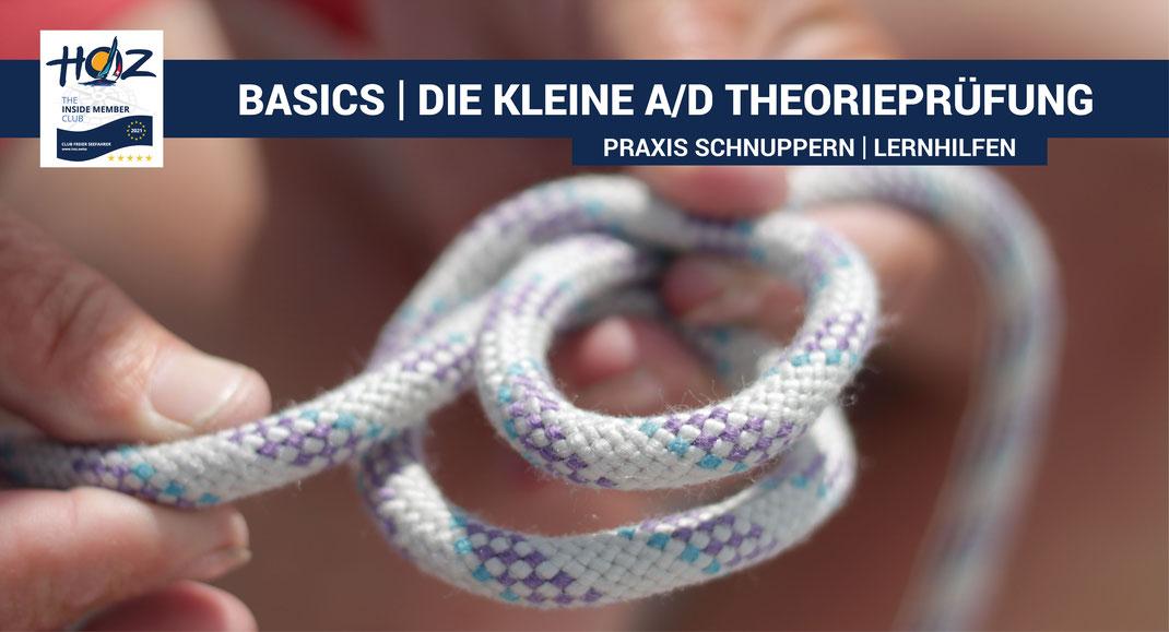 Basics | A/D Theorieprüfung für die Bootsführerprüfung | www.hoz.swiss