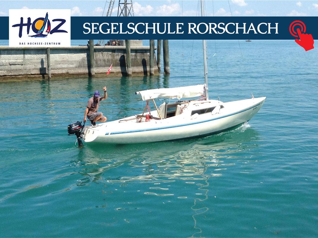 HOZ HOCHSEEZENTRUM INTERTATIONAL | Segelschule Rorschach  | www.hoz.swiss