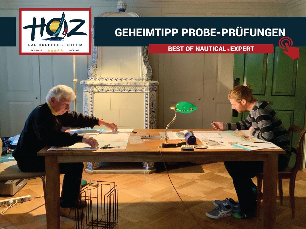 HOZ INSIDE MEMBER CLUB | HOZ Hochseeschein Probepruefungen | www.hoz.swiss