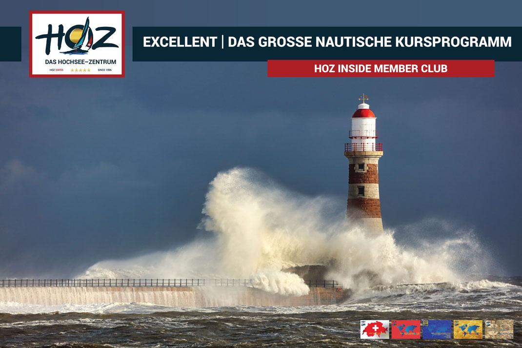 EXCELLENT | Nautische Akademie und Institut Hochseenavigation | www.hoz.swiss