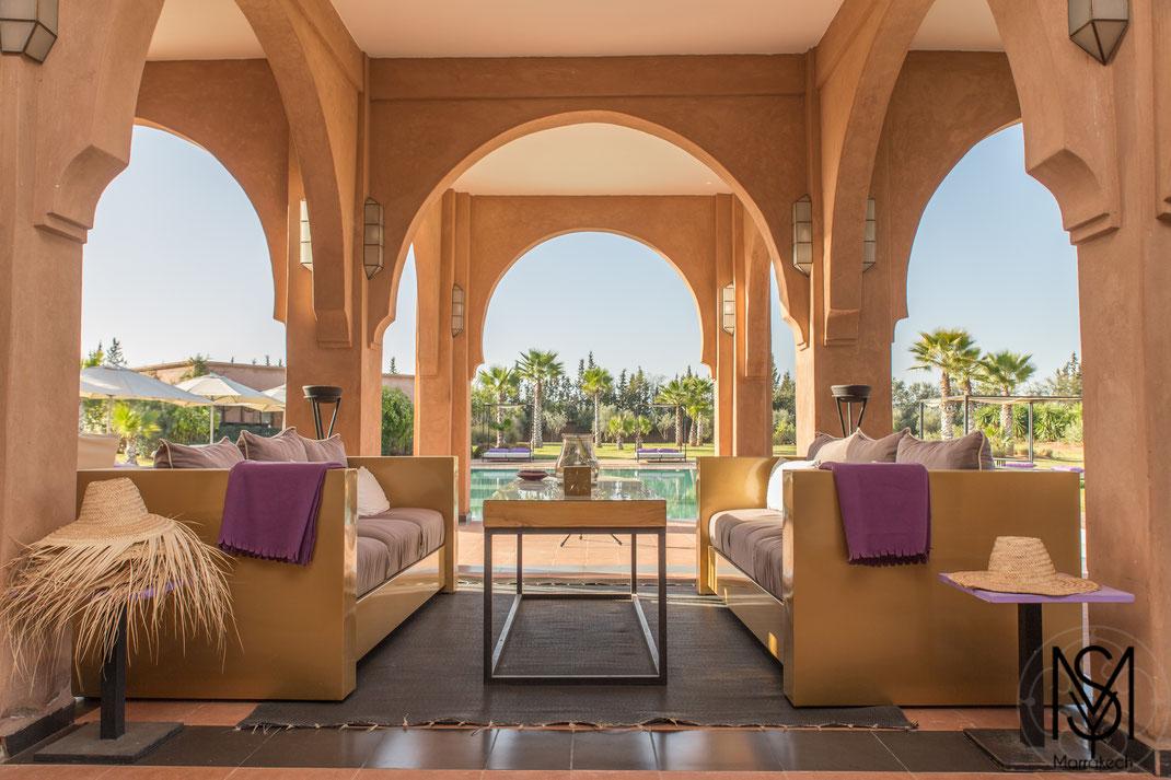Location Villa Luxe Marrakech pour 15 et 20 personnes
