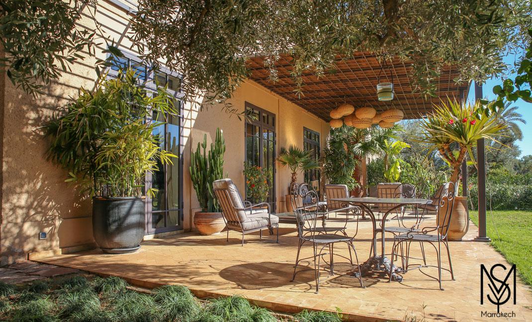 Location Villa de charme avec piscine chauffée Marrakech