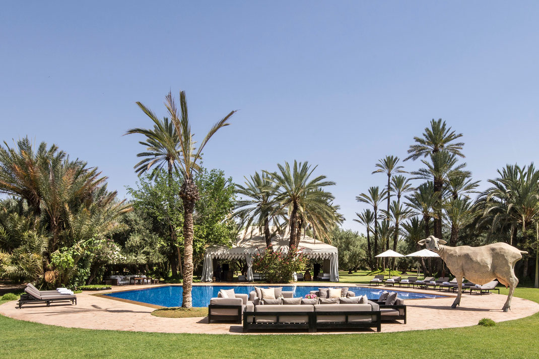 Séjour Villa Luxe Palmeraie avec 9 chambres pour 18 personnes à Marrakech